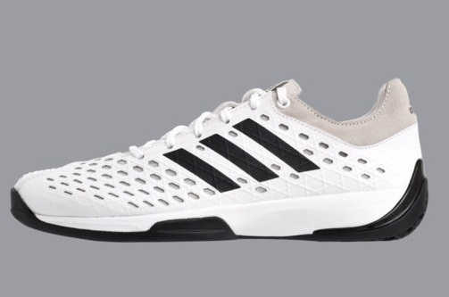 Fencing Shoe Adidas 'Fencing Pro' White with black trim